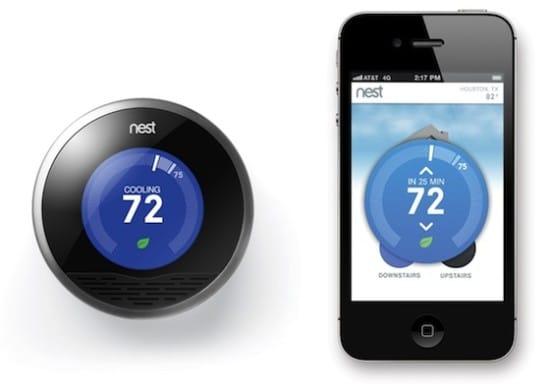Nest Thermostat iPhone