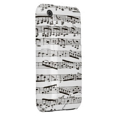 Black and White Musical Note