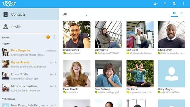 Skype Make free video Calls
