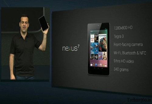 Nexus-7- Specification