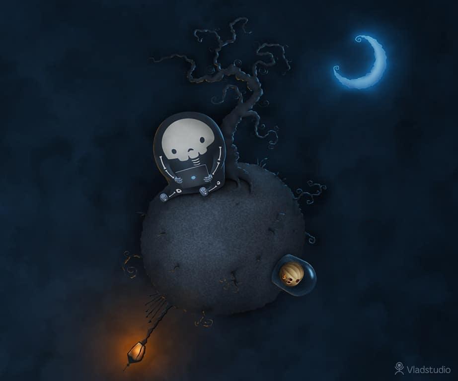 Halloween Little Planet