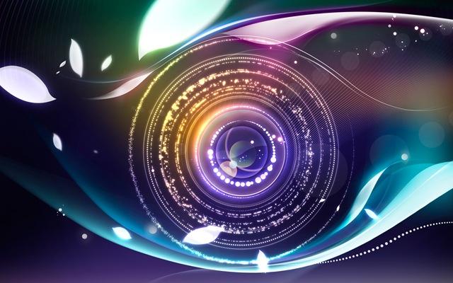 Digital Abstract Eye