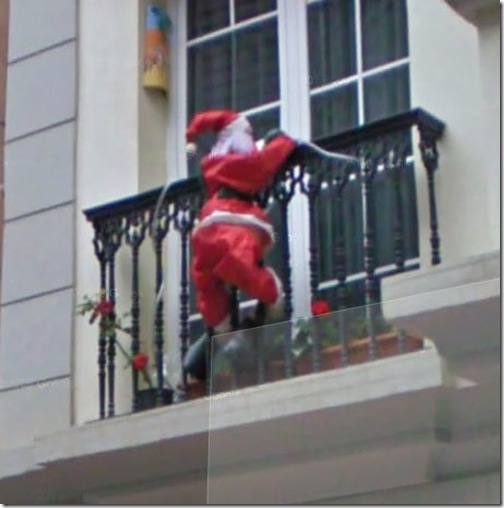 How Santa gives you gifts in case you do not have a chimney