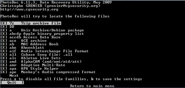Photo Recovery Tool for Linux