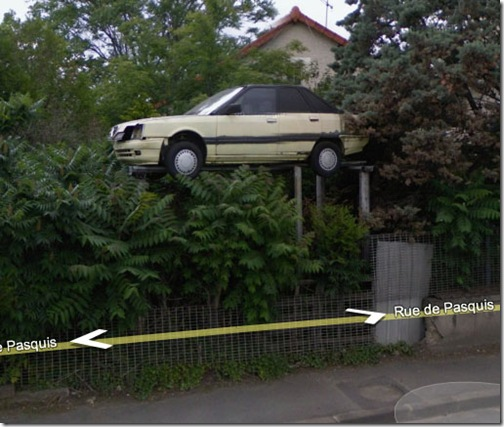 So that is where I parked my car