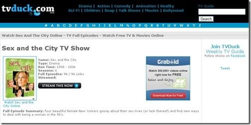 TbDuck- Stream free Tv online