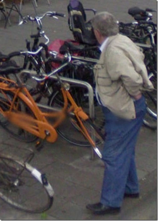 most appealing man caught on Google Street View