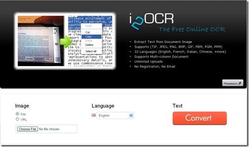 I2OCR-Screenweaver