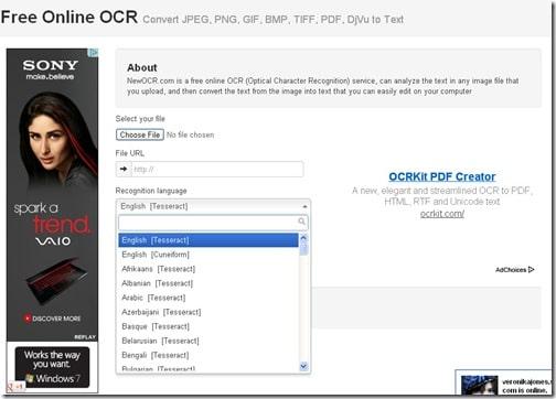 New OCR