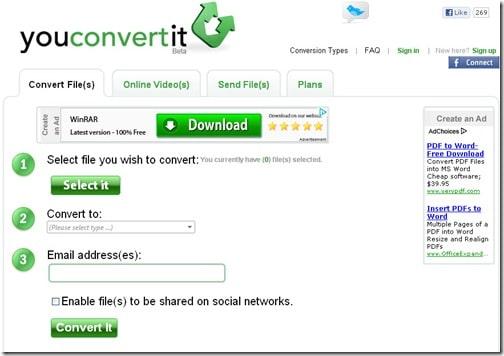 You Convert it