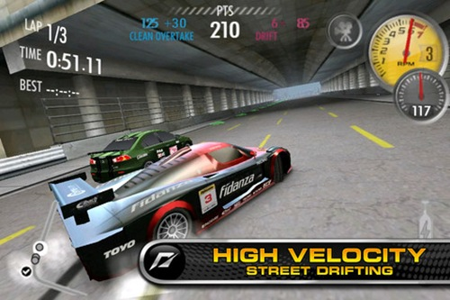 Need for Speed Shift iphone 5