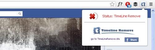 Timeline Remove for Google Chrome