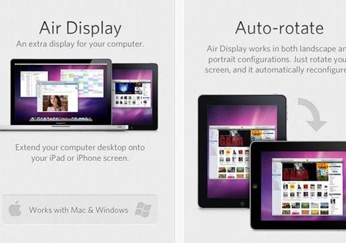 Air Display for iPad 3