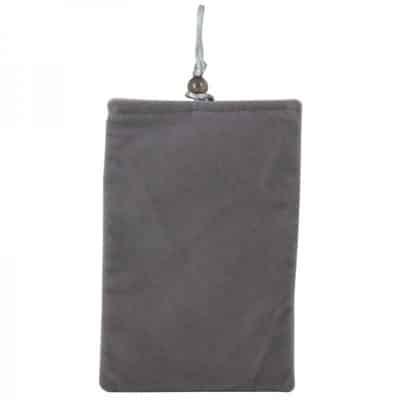 Bead Button Closure Soft Plush Pouch Bag for LG Nexus 4
