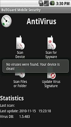 BullGuard Mobile Security2