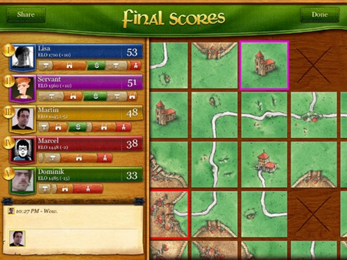 Carcassonne for iPad 3