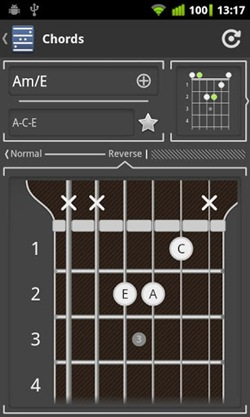 Chord! (Guitar Chord Finder) for android