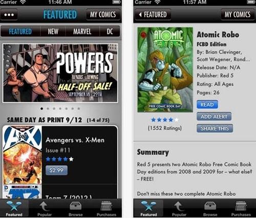 Comics for iPhone 5