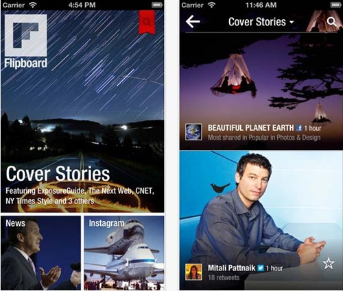 Flipboard for iPhone 5