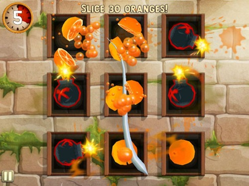 Fruit Ninja- Puss in Boots HD for iPad 3