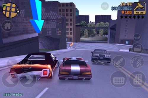 Grand Theft Auto 3 for iPad 3