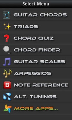 Guitarist's Reference for android
