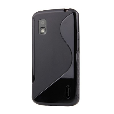 High Quality S-Line TPU Case Cover for LG Nexus 4