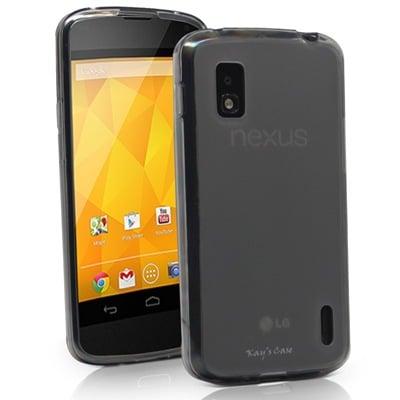 KaysCase Slim Soft Gel Cover Case for Google Nexus 4