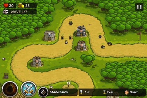 Kingdom Rush HD for iPad 3