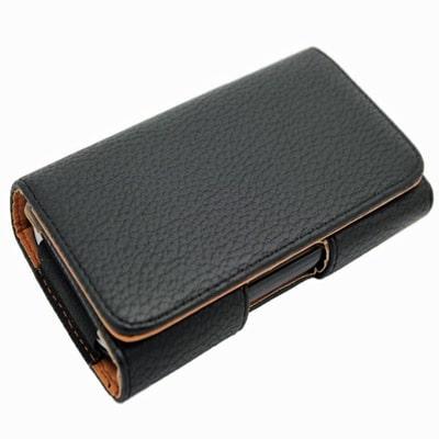 Leather Case Pouch Holster Belt Clip LG E960 Google Nexus 4