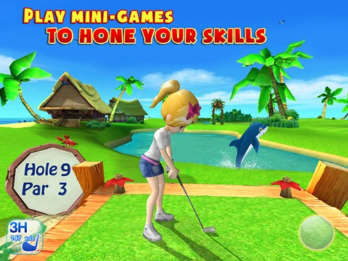 Let's Golf! 3 for iPad 3
