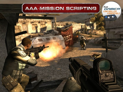 Modern Combat 3- Fallen Nation for iPad 3