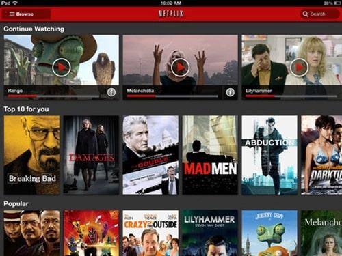 Netflix for ipad 3
