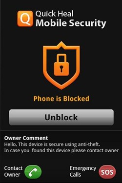 Quick Heal Mobile security Free2