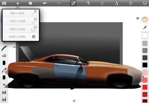 SketchBook Pro for iPad 3