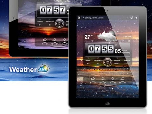 Weather Live for iPad 3