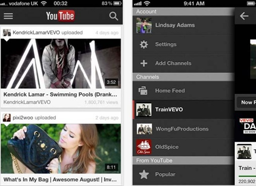 Youtube for iPhone 5