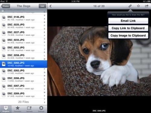 dropbox for iPad 3
