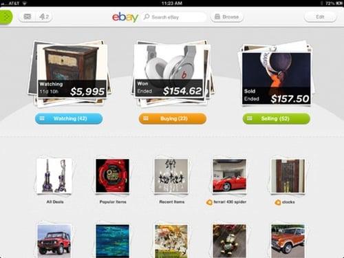 ebay for iPad 3