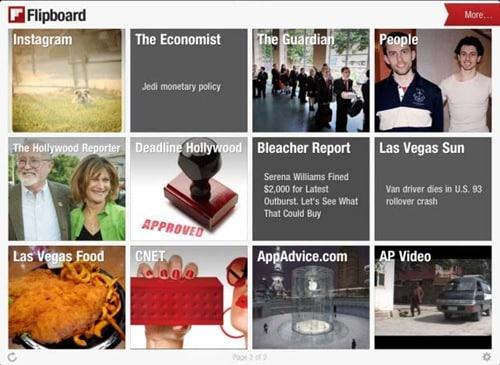flipboard for iPad 3