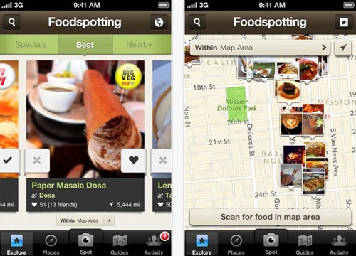 foodspotting for iPhone 5