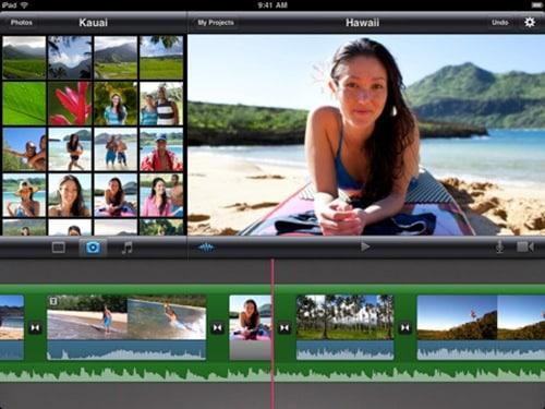 iMovie for iPad 3