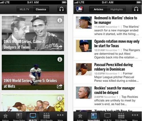 mlb.com for iPhone 5