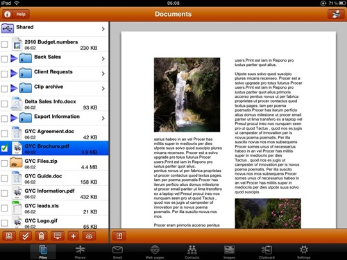 printcentral for ipad 3