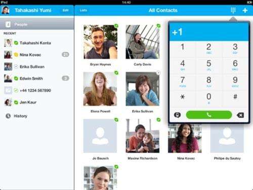 skype for iPad 3
