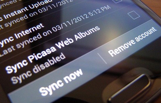 How to Delete Picasa Web Album in Gallery of Android Phone