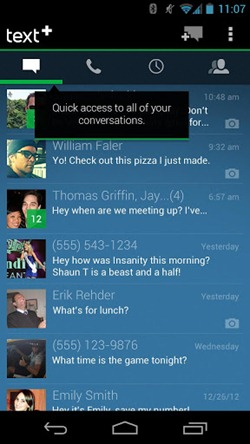 textplus for android