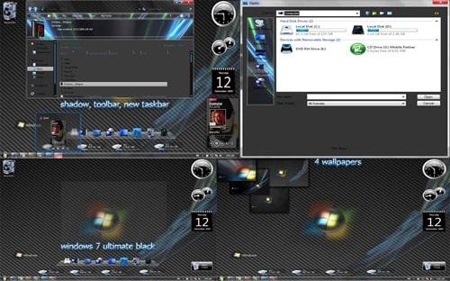 windows 7 Ultimate Black Theme