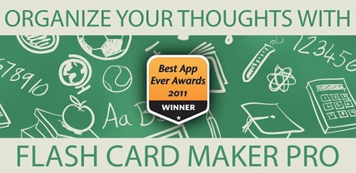 Flash Card Maker Pro for android