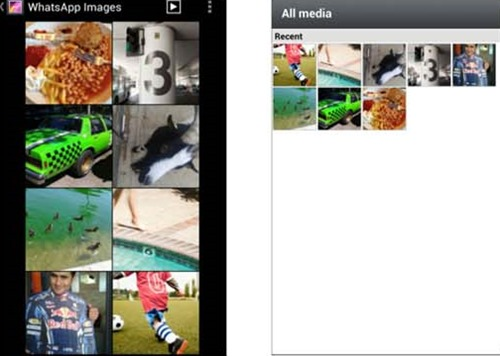 How to save photo you have receive